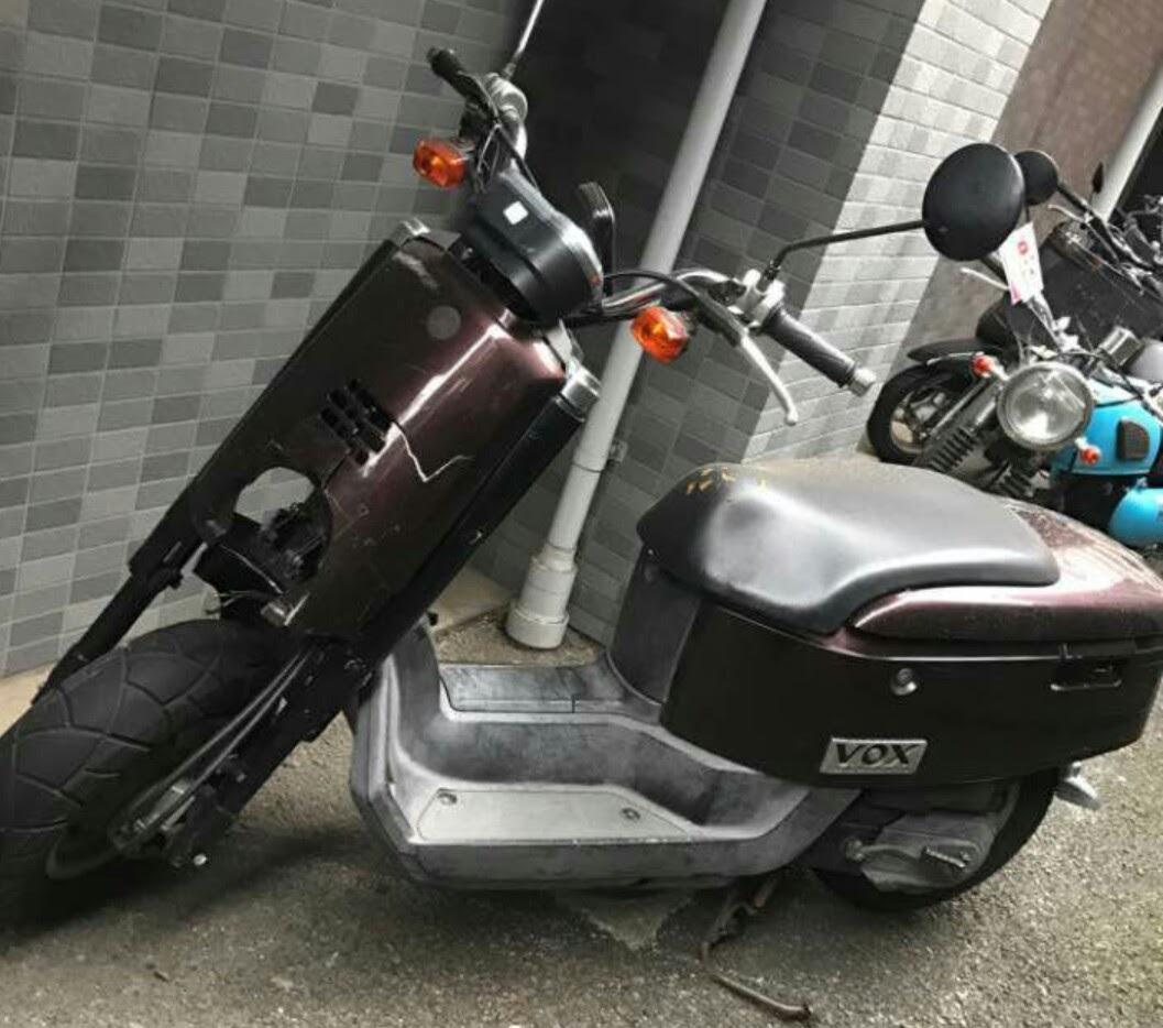 VOX(ヤマハ)の事故車バイクを一括査定で買取
