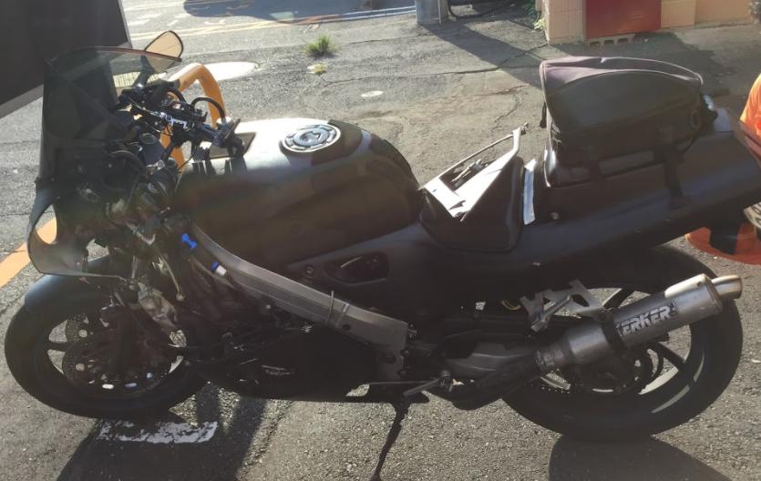 VFR400R(ホンダ)の事故車バイクを一括査定で買取