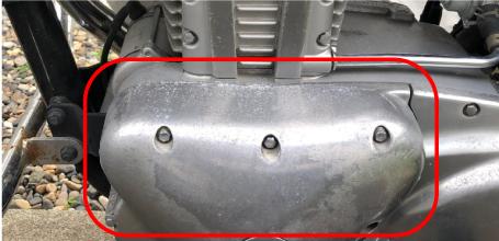 エンジンに傷やサビがある場合
