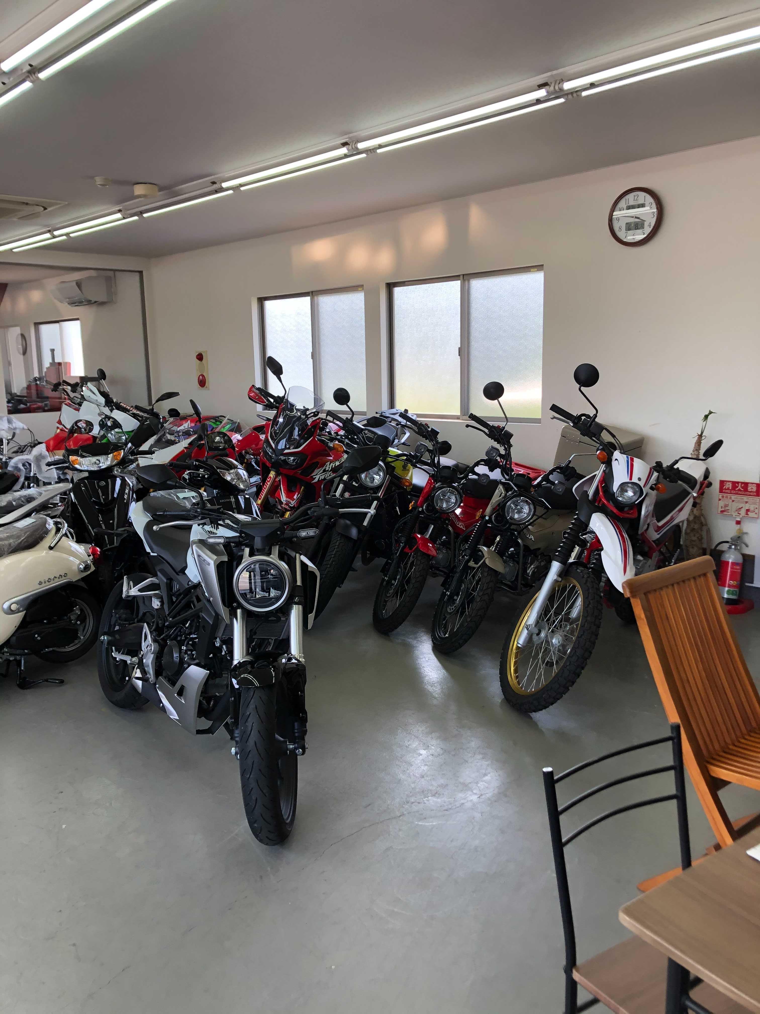 桜井サイクルセンター店内