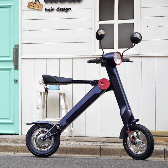 glafitの電動バイク