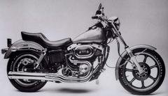 M harley davidson fxs 1200 low rider 1978