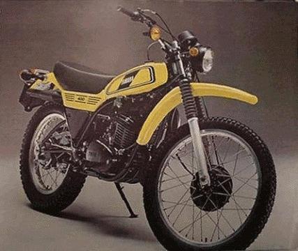 バイク比較.comを使ったお客様のDT400売却実績