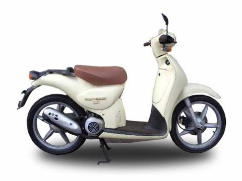 バイク比較.comを使ったお客様のスカラベオストリート50売却実績
