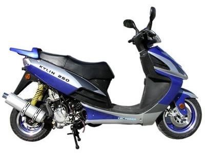 バイク比較.comを使ったお客様のKYLIN250売却実績