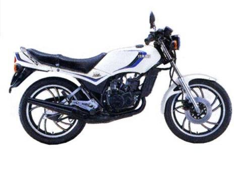 バイク比較.comを使ったお客様のRZ125売却実績