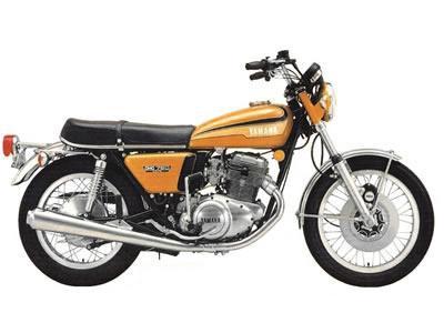 バイク比較.comを使ったお客様のTX750売却実績