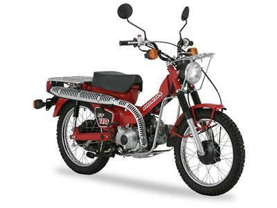バイク比較.comを使ったお客様のCT110売却実績