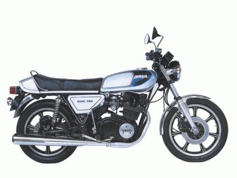 バイク比較.comを使ったお客様のXS750売却実績