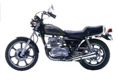 バイク比較.comを使ったお客様のZ250LTD ツインベルトドライブ売却実績