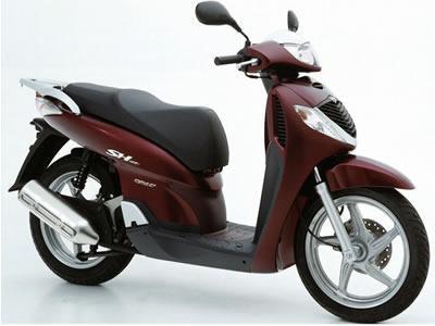 バイク比較.comを使ったお客様のSH125売却実績