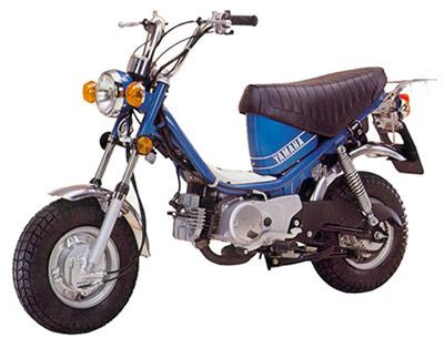 バイク比較.comを使ったお客様のチャッピー80売却実績