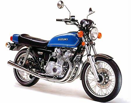 バイク比較.comを使ったお客様のGS750売却実績