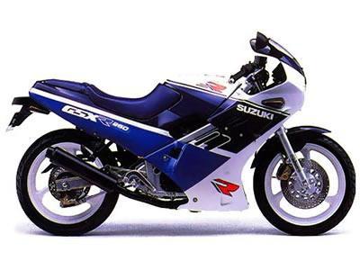 バイク比較.comを使ったお客様のGSX-R250売却実績