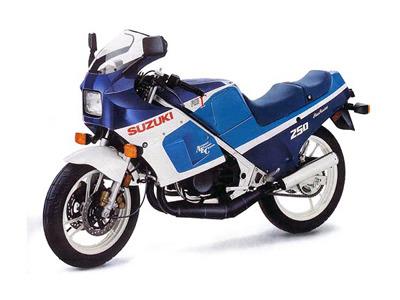バイク比較.comを使ったお客様のRG250ガンマ売却実績