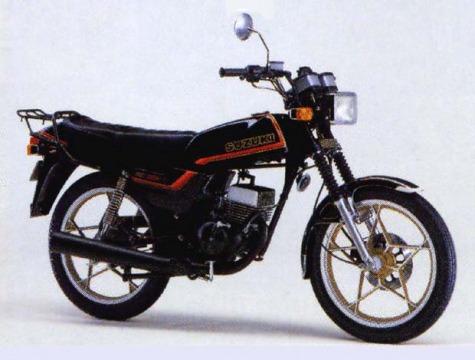 バイク比較.comを使ったお客様のRG80E売却実績