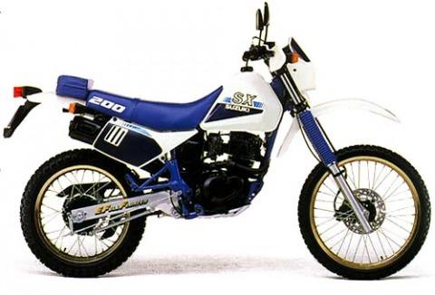 バイク比較.comを使ったお客様のSX200R売却実績