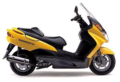 バイク比較.comを使ったお客様のバーグマン250売却実績