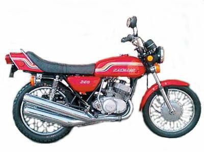バイク比較.comを使ったお客様の350SS(マッハⅡ)売却実績