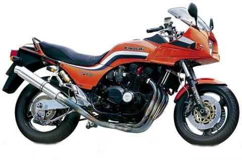 バイク比較.comを使ったお客様のGPZ1100F売却実績