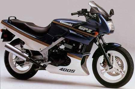 バイク比較.comを使ったお客様のGPZ400S売却実績