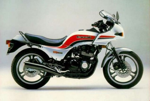 バイク比較.comを使ったお客様のGPZ550売却実績