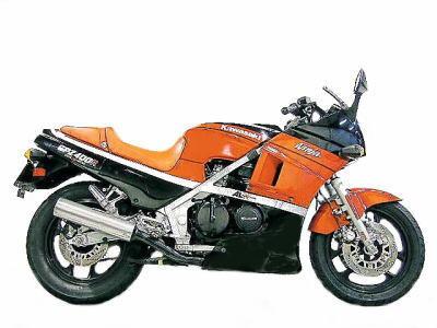 バイク比較.comを使ったお客様のGPZ600R売却実績