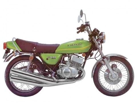 バイク比較.comを使ったお客様のKH400売却実績