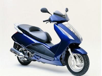 バイク比較.comを使ったお客様のパンテオン 125売却実績