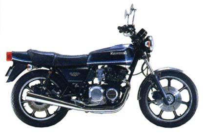 バイク比較.comを使ったお客様のZ550FX売却実績