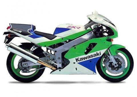 バイク比較.comを使ったお客様のZXR750R売却実績